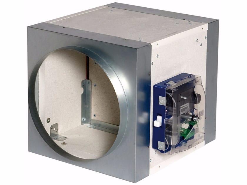 System to protect against fire penetration ISONE 1500 con attacchi circolari - ALDES