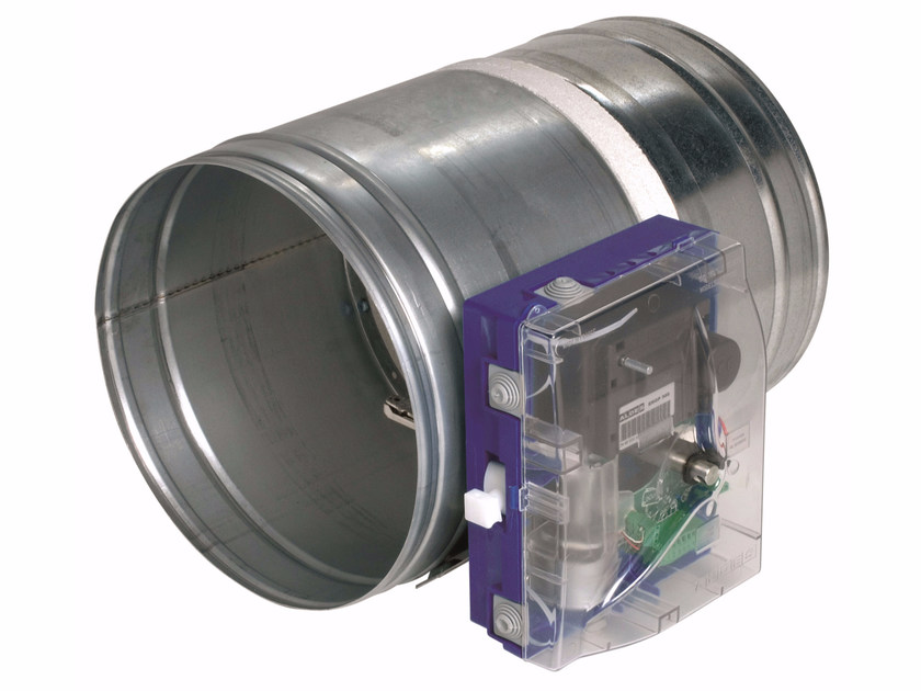 System to protect against fire penetration Circular ISONE+ EM by ALDES