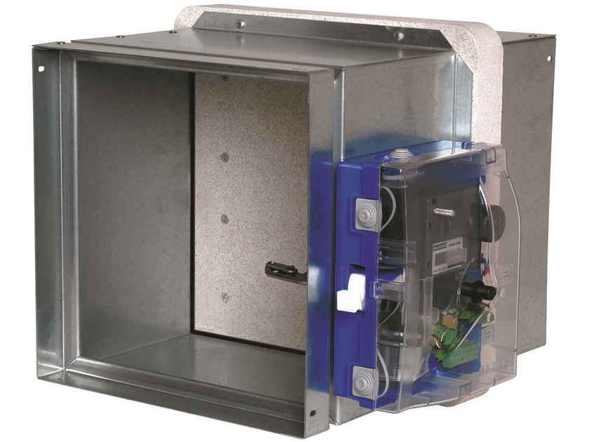 System to protect against fire penetration Rectangular ISONE+ FDP - ALDES