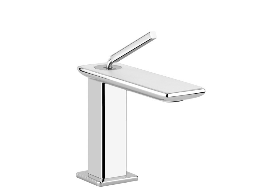 Countertop washbasin mixer ISPA WHITE 41201 by Gessi