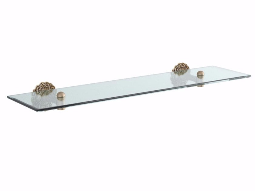 Crystal bathroom wall shelf IVY | Bathroom wall shelf by GENTRY HOME