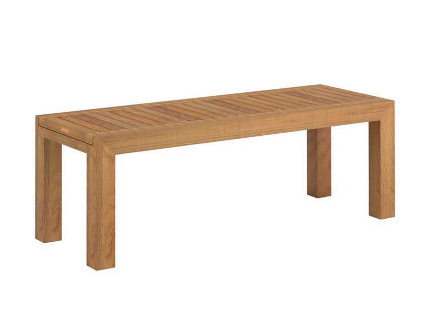 Teak garden bench IXIT | Garden bench - ROYAL BOTANIA