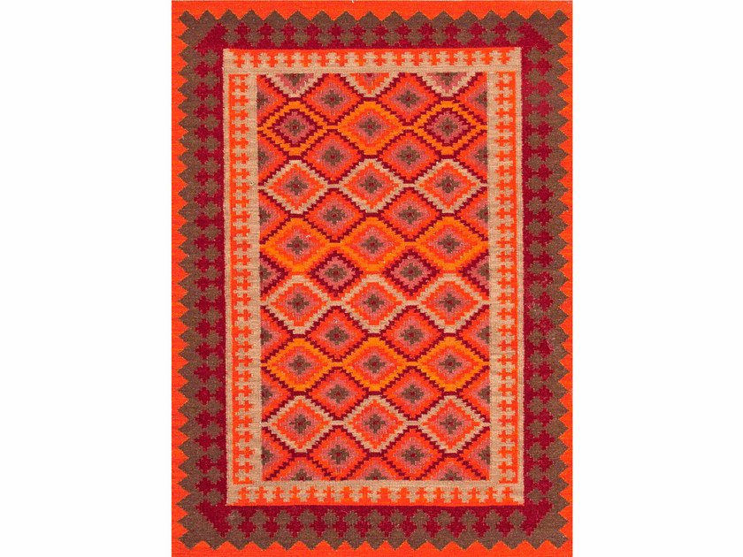 Rug with geometric shapes ANATOLIA PX-2097 by Jaipur Rugs