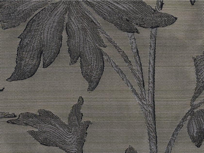 Jacquard cotton fabric with floral pattern JAIPUR - KOHRO