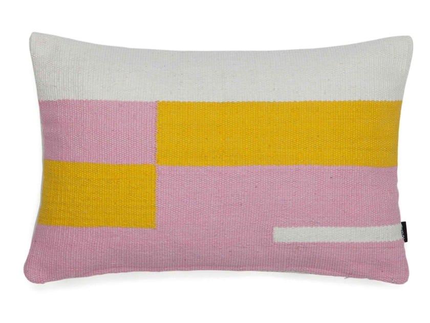 Cotton cushion JAMA-KHAN | Rectangular cushion - Tiipoi