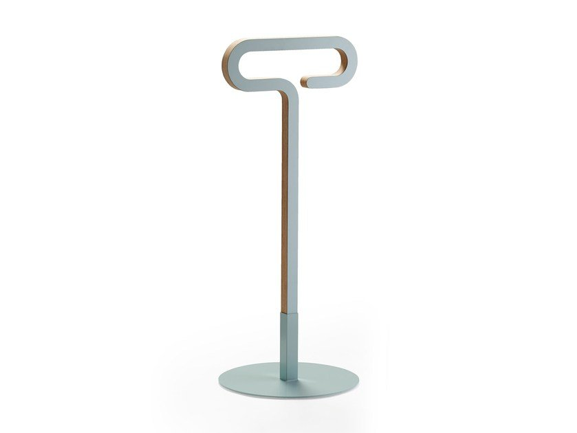 Multi-layer wood valet stand JAMES by rosconi