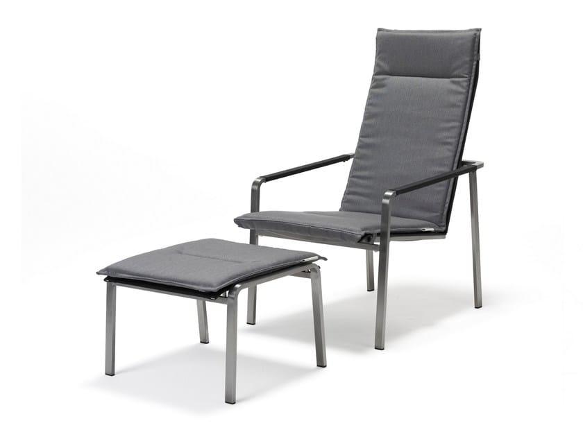Sedia a sdraio reclinabile con braccioli JAZZ | Sedia a sdraio - solpuri