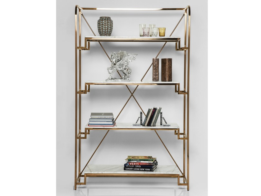 Open steel bookcase JAZZ by KARE-DESIGN