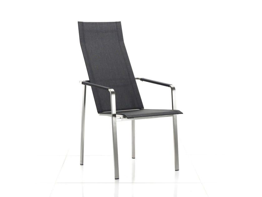 Sedia con braccioli con schienale alto JAZZ | Sedia reclinabile - solpuri