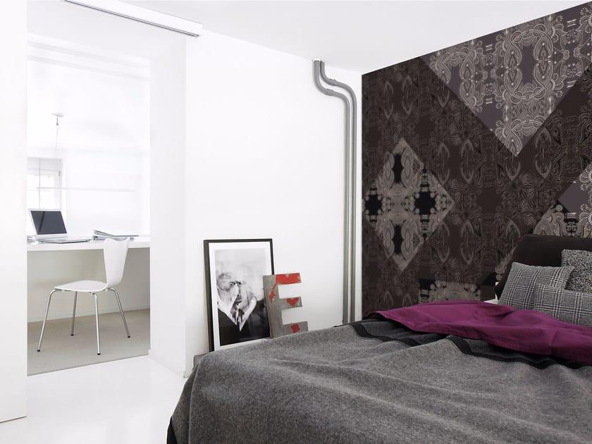 Motif panoramic wallpaper JEU DE DAME 01 - Inkiostro Bianco