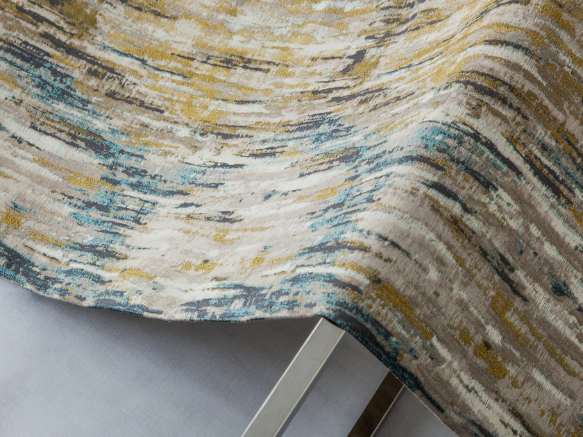 Multi-colored upholstery fabric JIVA by Equipo DRT