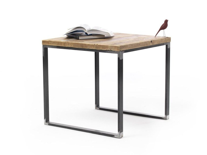 Square spruce table JOYCE | Square table - Vontree