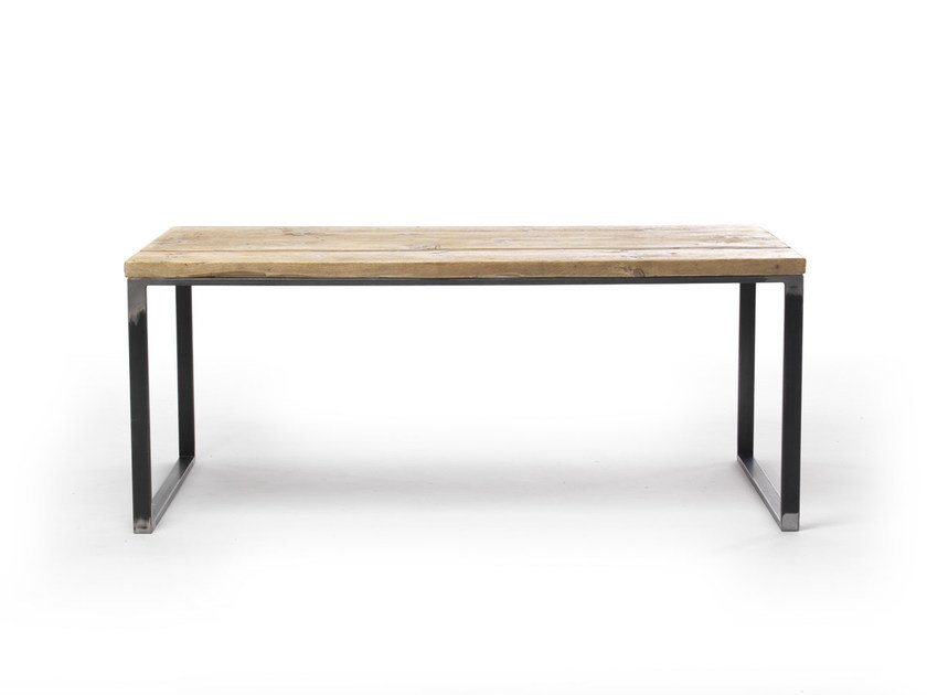 Rectangular spruce table JOYCE | Rectangular table - Vontree