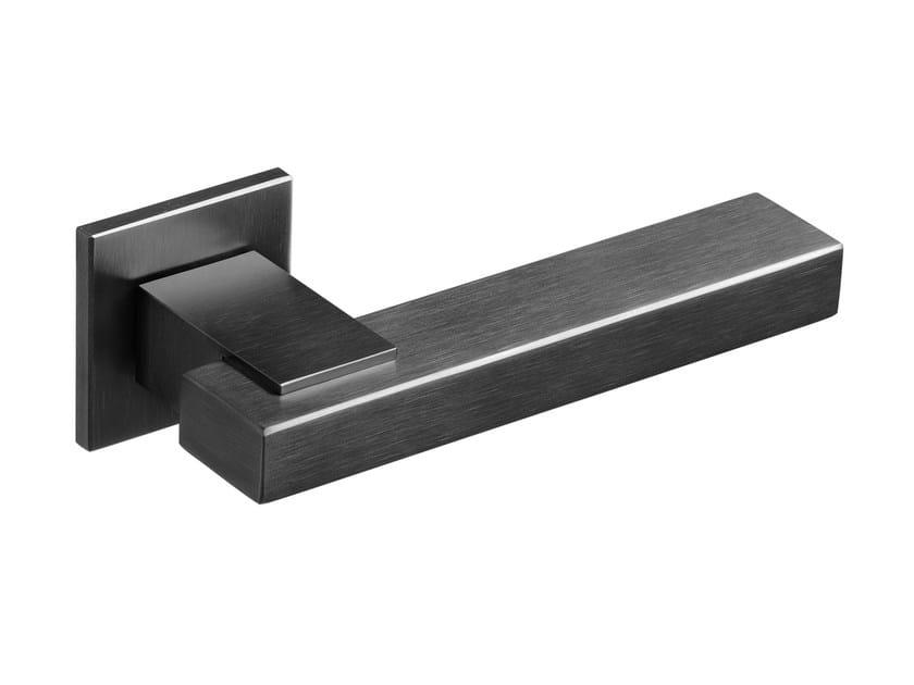 Door handle on rose JOIN ANTRACITE - Frascio