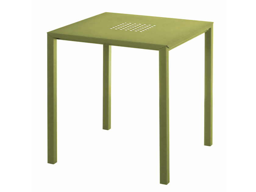 Stackable square table JOLLY - EMU Group S.p.A.