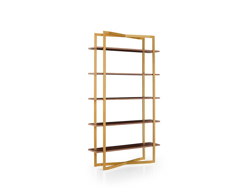Open freestanding bookcase JONA by Oliver B.