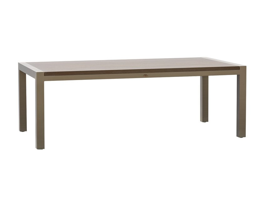Rectangular table JOURNEY 23091 - SKYLINE design