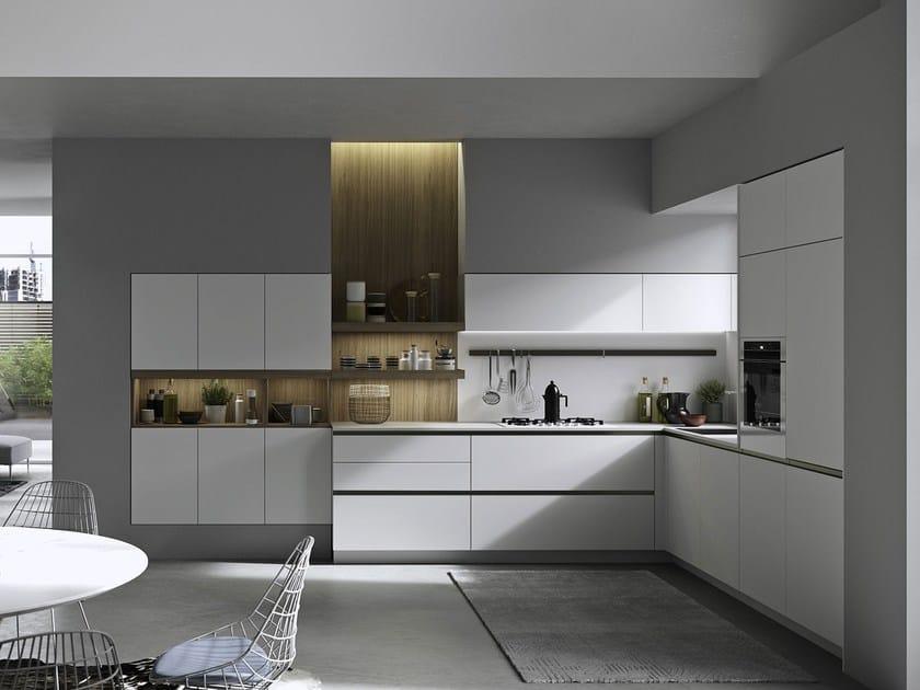 Cucina con maniglie integrate joy cucina snaidero - Cucine snaidero catalogo ...