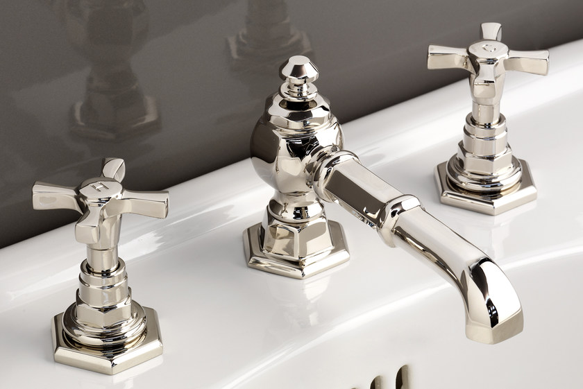 3 hole countertop washbasin tap JUBILEE | Washbasin tap by Devon&Devon