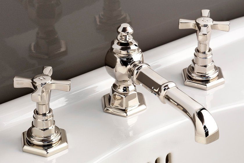 3 hole countertop washbasin tap JUBILEE | Washbasin tap - Devon&Devon