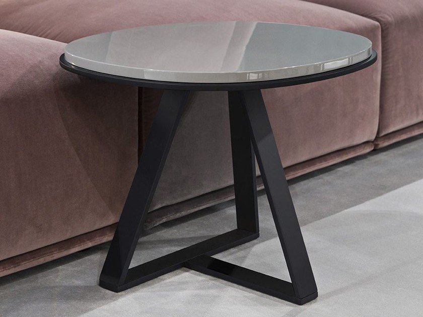 Lacquered side table JUDD | Lacquered coffee table - Meridiani