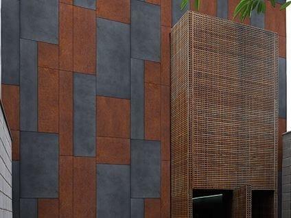 Motif outdoor wallpaper JULIAN - Wall&decò