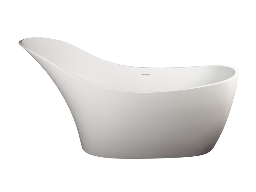 Freestanding Solid Surface® bathtub JULIETTE by 7Baths