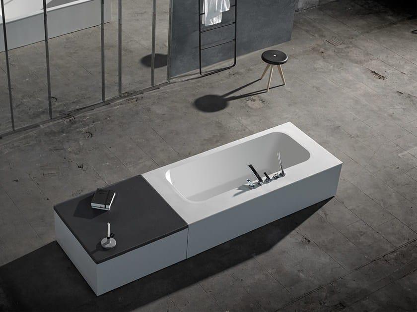 Solid Surface® bathtub KA | Freestanding bathtub - INBANI