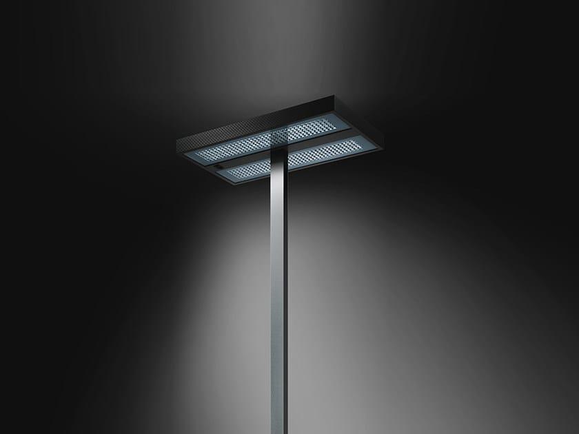Lampada da terra a luce diretta e indiretta fluorescente in alluminio estruso KALIFA | Lampada da terra - Artemide Italia