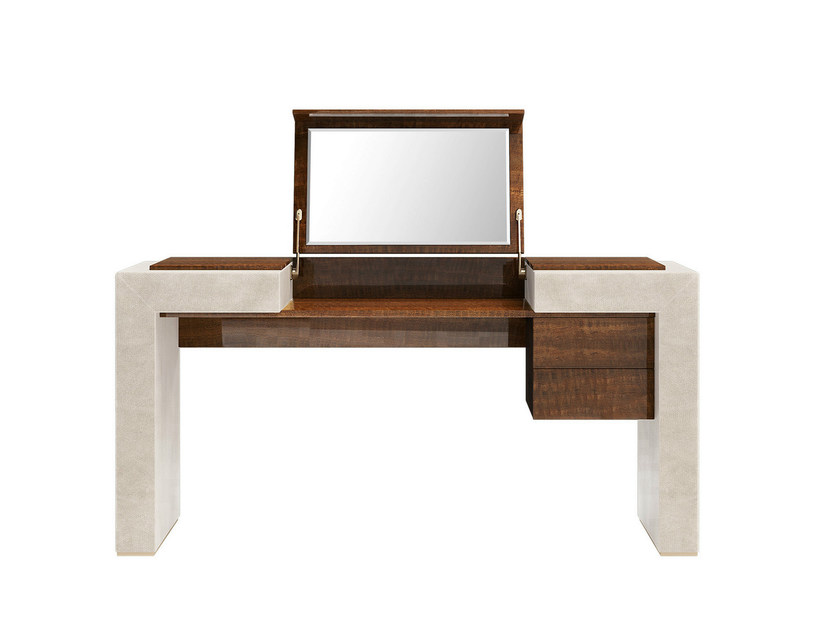 Rectangular solid wood console table with drawers KANDY | Console table with drawers - Capital Collection by Atmosphera