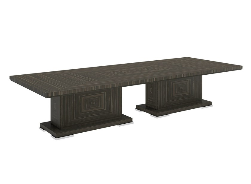 Rectangular wooden dining table KANTO 2B - Capital Collection by Atmosphera