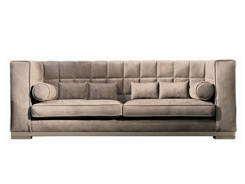 Upholstered leather sofa KAPIENTE - Capital Collection by Atmosphera