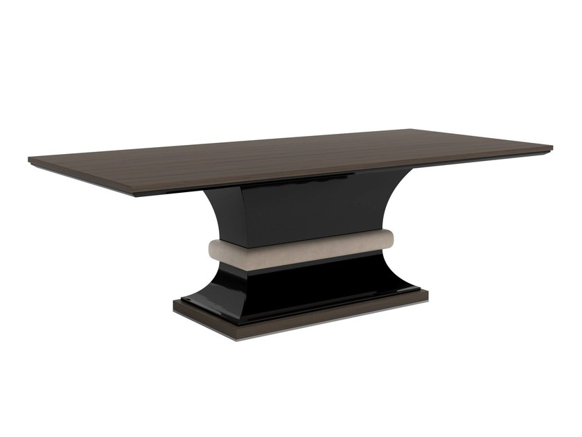 Rectangular wooden table KARMA - Capital Collection by Atmosphera