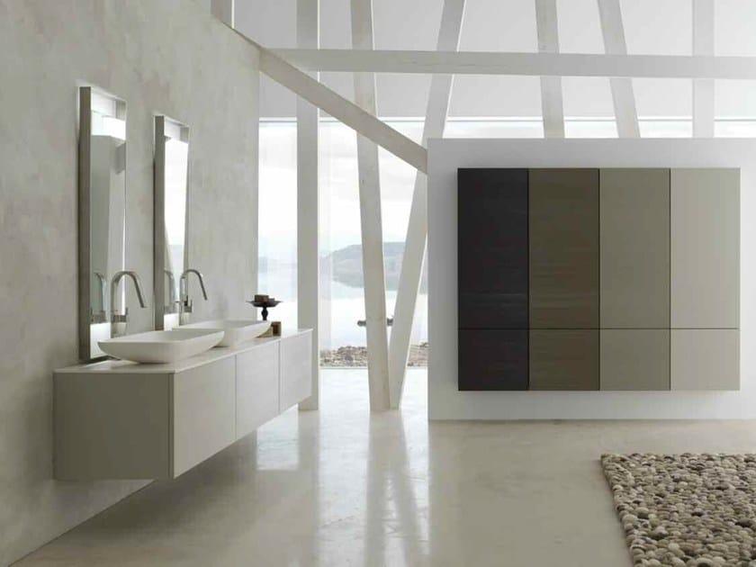 Sistema bagno componibile KARMA - COMPOSIZIONE 20 - Arcom
