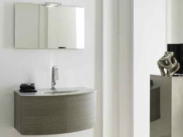 Sistema bagno componibile KARMA - COMPOSIZIONE 27 - Arcom