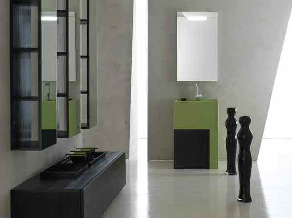 Sistema bagno componibile KARMA - COMPOSIZIONE 33 - Arcom