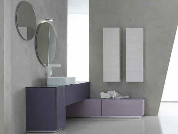 Bathroom cabinet / vanity unit KARMA - COMPOSITION 35 - Arcom