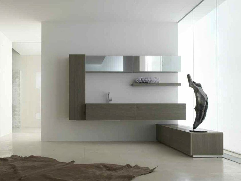 Bathroom cabinet / vanity unit KARMA - COMPOSITION 36 - Arcom