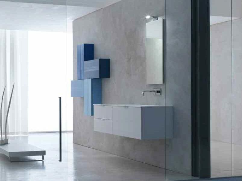 Sistema bagno componibile KARMA - COMPOSIZIONE 38 - Arcom
