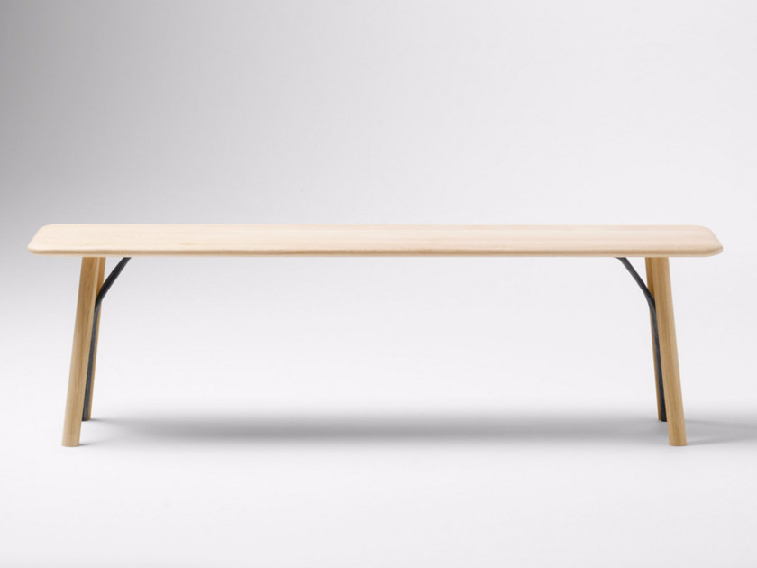 Wooden bench KEA | Bench - ALKI