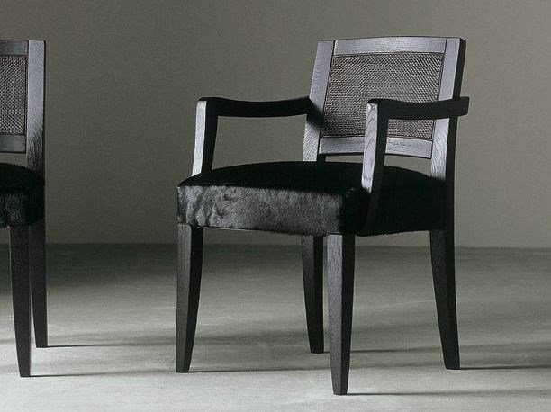 Upholstered chair with armrests KERR OTTO - Meridiani