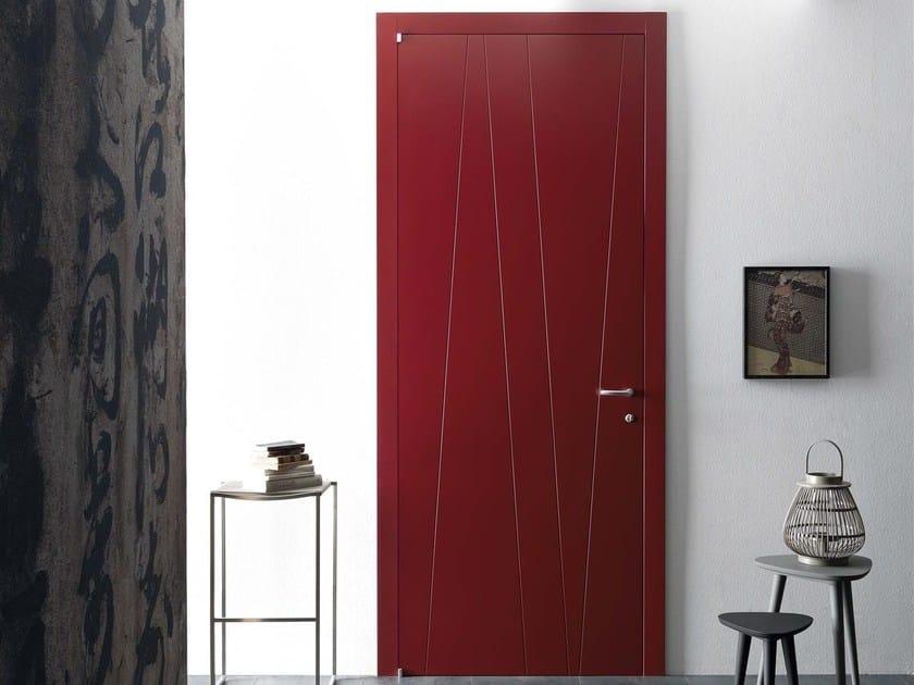Hinged lacquered door KICK by Door 2000