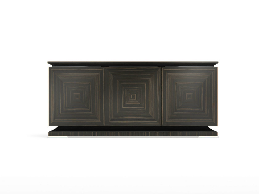 Solid wood sideboard with doors KILO P - Capital Collection by Atmosphera