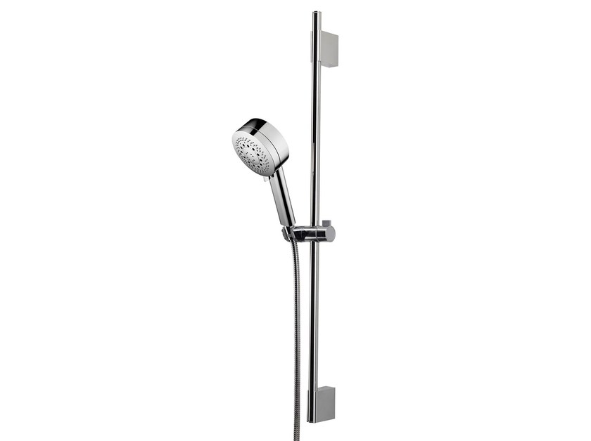 Shower wallbar with hand shower Kira Set by Bossini