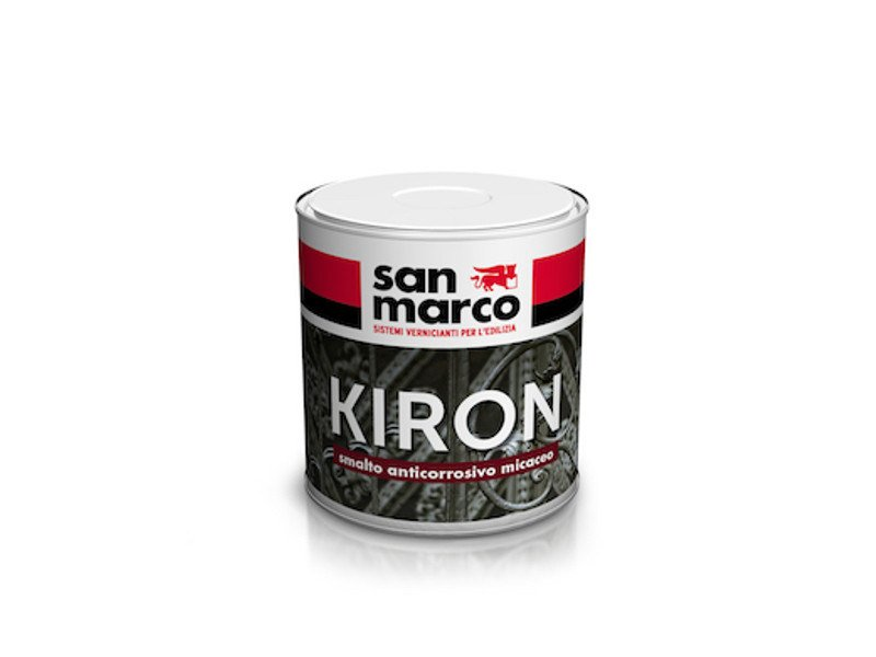 Mica-finish anticorrosive enamel KIRON by San Marco