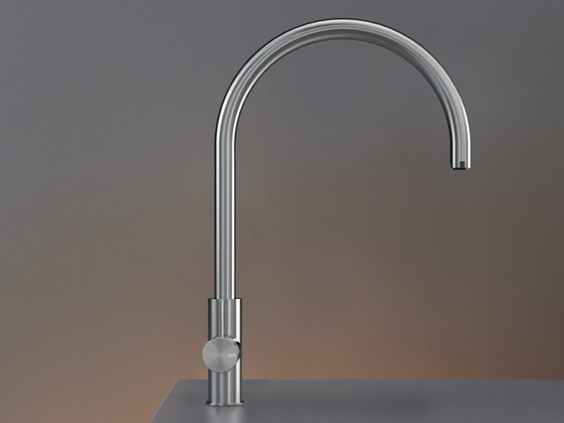 1 hole kitchen mixer tap with pull out spray KIT 01 - Ceadesign S.r.l. s.u.