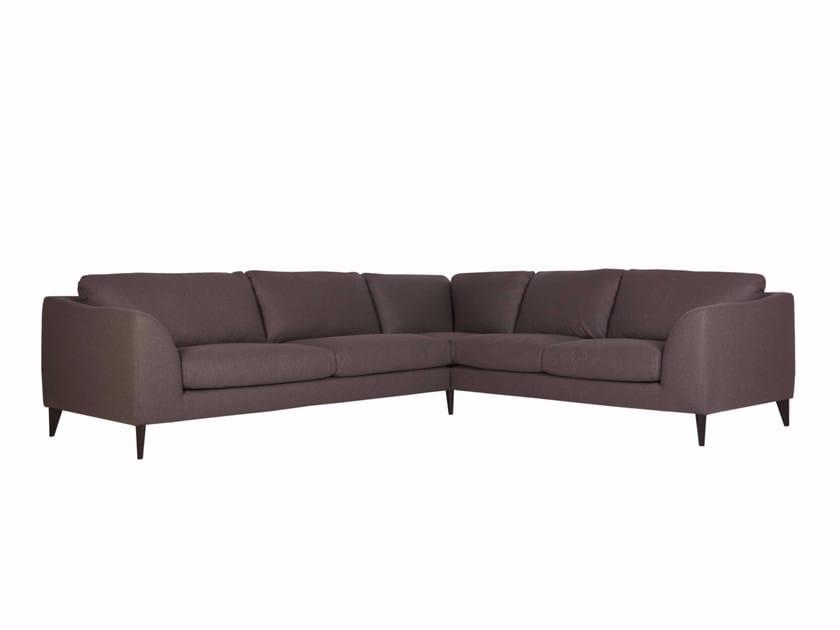 5 seater corner upholstered fabric sofa KLARA | 5 seater sofa - SITS