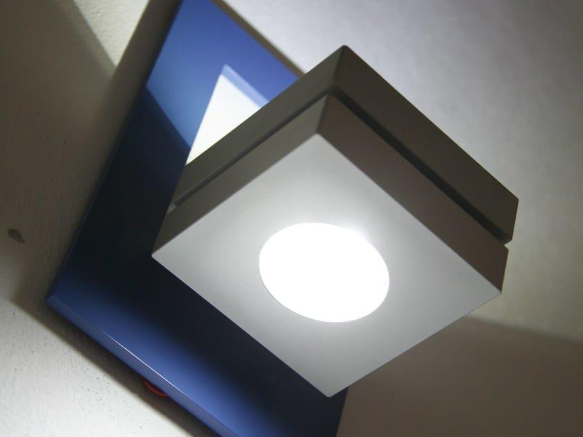 LED wall-mounted aluminium spotlight KLAS INCORNICIATA - Brillamenti by Hi Project