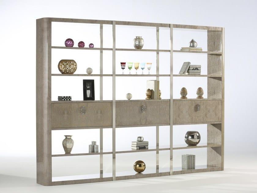 Open freestanding ash bookcase KLASS | Ash bookcase by Muebles Canella