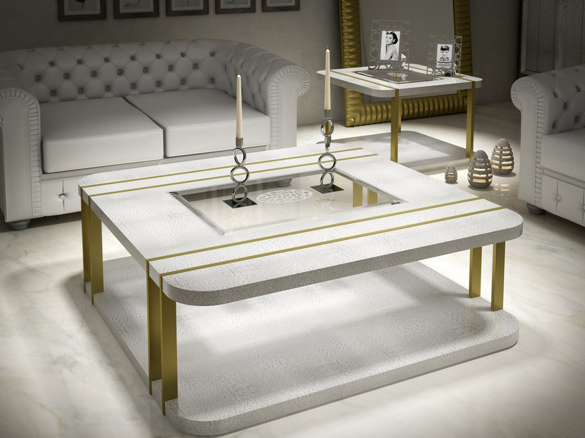 Low lacquered coffee table KLASS | Lacquered coffee table by Muebles Canella